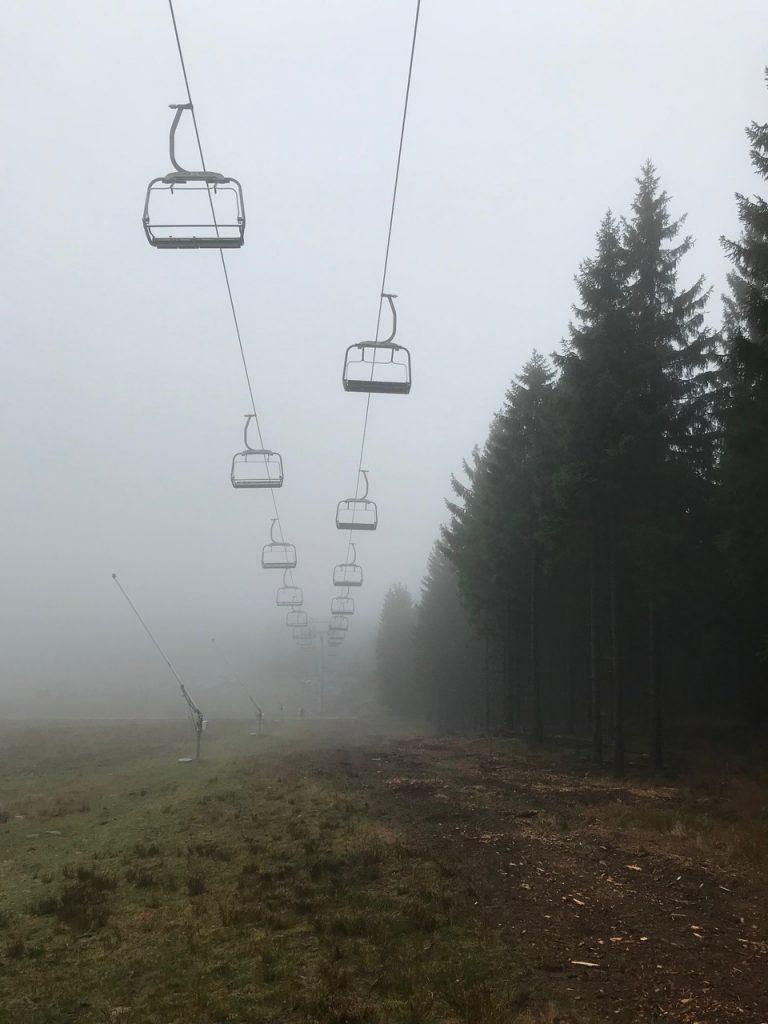 Der Hexen-Express im Nebel