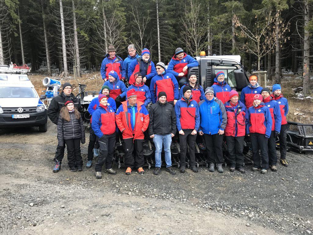 Gruppenbild Bergwacht Harz